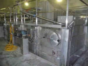 1,500 to 2,000 kg/h Tetra Tebel Alfomatic Cheese Belt