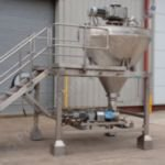 V-type Jacketed Mixing System with Product Pump