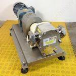 3kw 2½ inch Ivarson STA-FLO Positive Sanitary Butter Pump