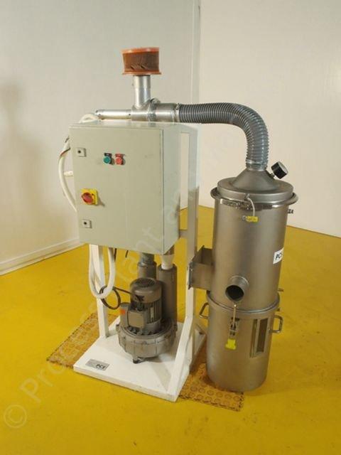 Vacuum Blowers Industrial Process : Pcs k tron vacuum blower system process plant and