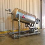 ~1,500 Ltr GEA Mixing Tank With Scraped Surface Heat Exchanger