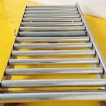 Stainless Steel Gravity Roller Pallet Conveyor