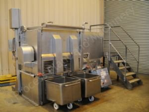 ~750 Ltr Stainless Steel U-Trough Ribbon Mixing Plant