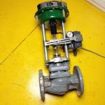 2 Inch Fisher 1018 S Sliding-Stem Control Valve With 3024S Actuator