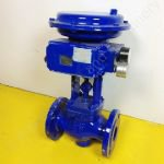 2 Inch Samson globe Valve with Electro Pneumatic Positioner