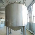 ~15,000 Ltr Stainless Steel Insulated Tank with Top-Mounted Mixer