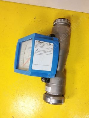 Used Krohne H250 Rr M9 Variable Area Flow Meter Process