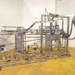 Bulk Cream Filling System with Alfa Laval Plate Heat Exchanger