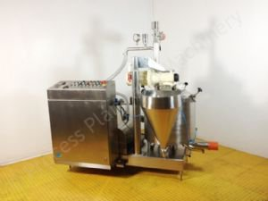 ~100 Ltr Scanima SR3-100 Vacuum Process Vessel with Bottom High Shear