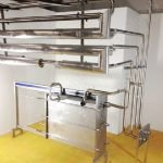 Alfa Laval CW8-KSR Plate Heat Exchanger with Pipework