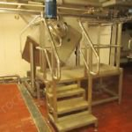 ~600 Ltr QB Stainless Steel High Shear Mixer mounted on Load Cells