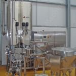 1,200 Ltr APV Flex-Mix Liquiverter Semi-continuous Mixer (Vacuum Application)