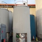 ~18,000 Ltr Stainless Steel Insulated & Clad Liquid Storage Silo