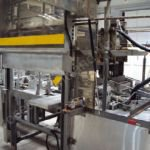 Odenberg Case Packer used on Cheddar Cheese Manufacturing Plant