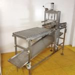 Cryovac Stainless Steel Cheese Block Bagger
