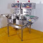Lock Yamato Type CK02L-CE310S Twin-Checkweighing Machine