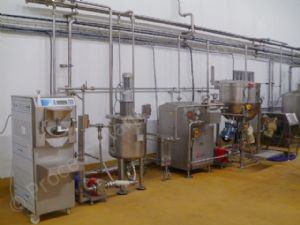 ~300 LPH Ice-Cream Processing Pilot Plant (Refurbished)