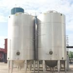 ~30,000 Ltr Stainless Steel Jacketed Holding Tank