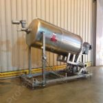 ~1,500 Ltr GEA Mixing Tank With Scraped Surface Agitator