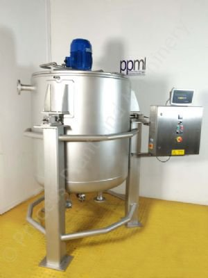 Used 1,000 Ltr Jacketed Tank with Silverson High Shear Mixer | PPM Ltd