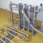 APV Type JHE Stainless Steel Pasteuriser with Holding Tubes