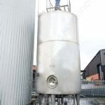 ~30,000 Ltr Stainless Steel Insulated Tank with Multi-Paddle Mixer