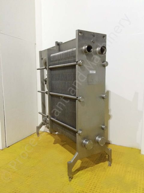 Used Apv Type R52 Stainless Steel Plate Heat Exchanger Ppm Ltd
