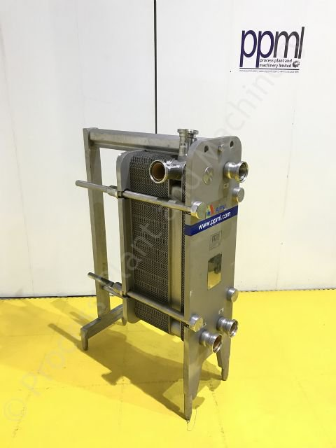 Used APV Type H17 Stainless Steel Plate Heat Exchanger|PPM Ltd