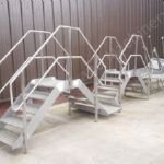 Stainless Steel Access Steps & Gantry