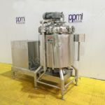 350 Ltr Scanima SRB-350 Vacuum Process Vessel with Bottom High Shear