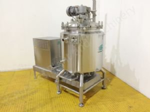 350 Ltr Scanima SRB-350 Jacketed Vacuum Process Vessel with High Shear