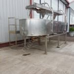 10,000 Ltr Stainless Steel Jacketed Open-Top Cheese Vat