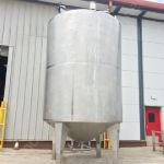 20,000 Ltr Stainless Steel Insulated Vertical Holding Tank
