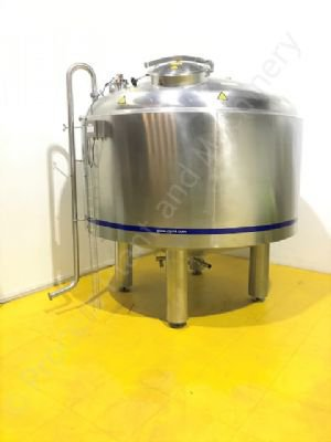 5,000 Ltr 316 Grade Stainless Steel Insulated Holding Tank