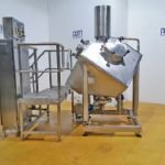 ~600 Ltr QB Stainless Steel Jacketed High Shear Mixer mounted on Load Cells