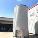 60,000 Ltr Stainless Steel Insulated & Clad Liquid Storage Silo