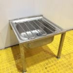 Stainless Steel Floor Stand Single Bucket Sink