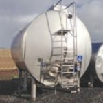 22,700 Ltr Stainless Steel Jacketed & Insulated & Clad Horizontal Tank