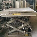 2,000kg Edmo Stainless Steel Pallet Scissor Lift Table