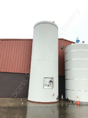 70,000 Ltr Stainless Steel Insulated & Clad Liquid Storage Silo
