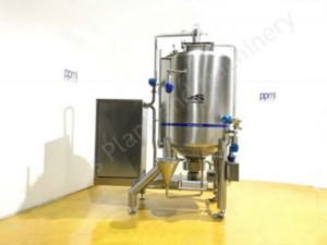 1,500 Ltr Scanima 1R2S-1500V High Shear Vacuum Mixing Vessel