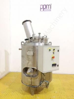 230 Ltr Pierre Guerin Stainless Steel Jacketed Tank with Top-Paddle Mixer