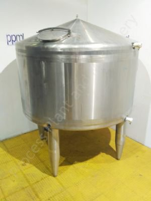 5,000 Ltr APV Stainless Steel Insulated Vertical Holding Tank