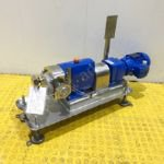 0.75kw 2 inch Alfa Laval SRU2/018/LS Jacketed Positive Lobe Pump