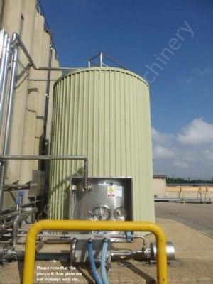 50,000 Ltr Stainless Steel Insulated & Clad Liquid Storage Silo