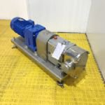 5.5kw 3 inch Fristam FL2 100L Stainless Steel Positive Lobe Pump