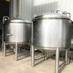 2,500 Ltr 316 Grade Stainless Steel Insulated Holding Tank