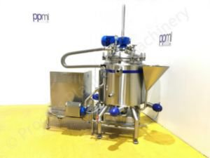 350 Ltr Scanima SRB-350 Jacketed Vacuum Process Vessel