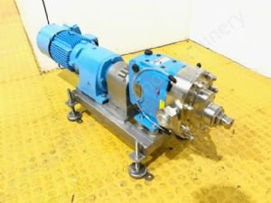 2.2kw 1.5 inch Waukesha Model 030 Positive Lobe Pump