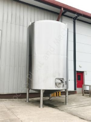 20,000 Ltr 316 Grade Stainless Steel Jacketed Holding Tank